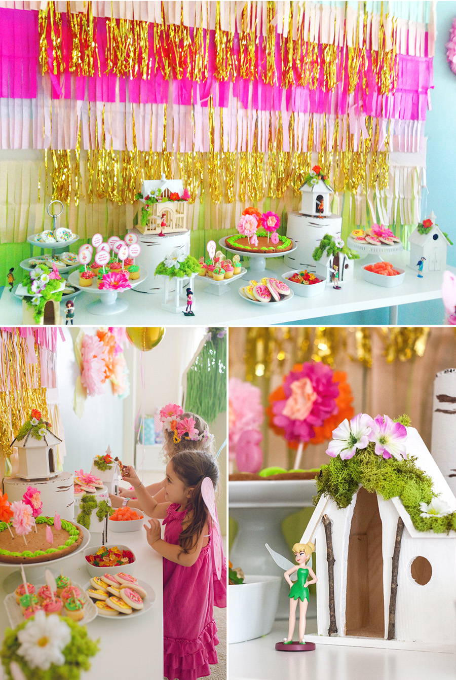 Sophia siennas fairy birthday party at home with natalie plates and ikea bowls fairy party dessert table 1 izmirmasajfo