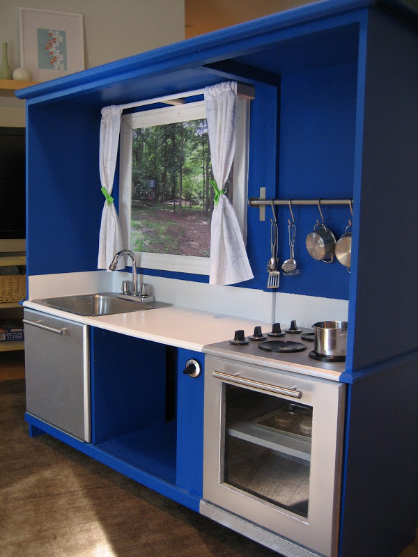 DIY Inspiration for my TV Cabinet Play Kitchen - At Home ...