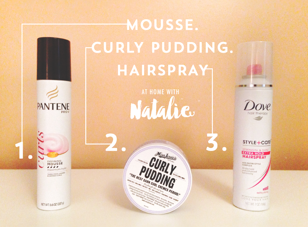 Products I Use For My Curly Hair