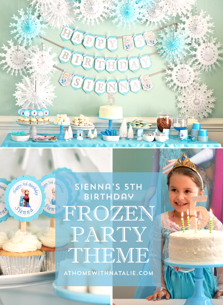 FROZEN PARTY-ATHOMEWITHNATALIE