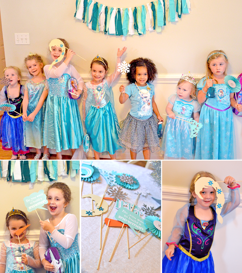 Sienna\'s 5th Birthday- A Frozen Party! - At Home With Natalie