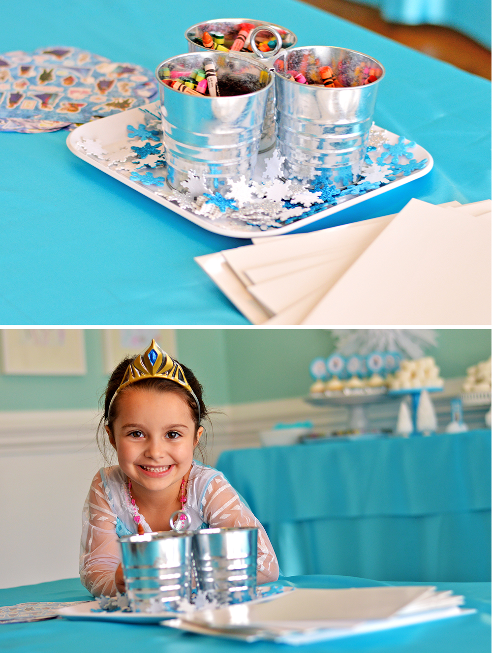 Sienna S 5th Birthday A Frozen Party At Home With Natalie