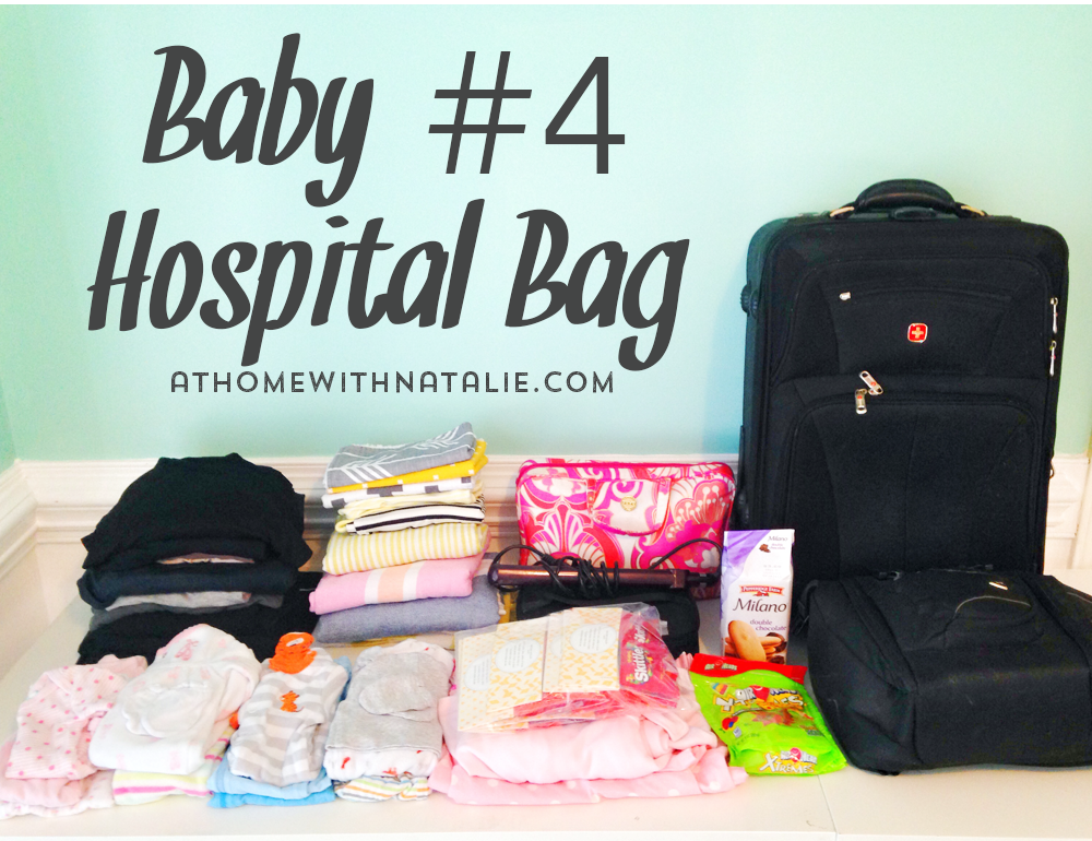 Baby4 Hospital Bag Athomewithnatalie