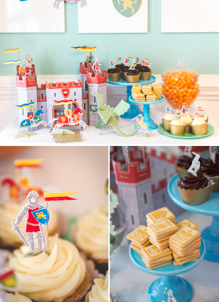 PRINCESS AND KNIGHTS PARTY-ATHOMEWITHNATALIE3