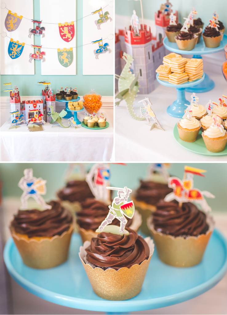PRINCESS AND KNIGHTS PARTY-ATHOMEWITHNATALIE6