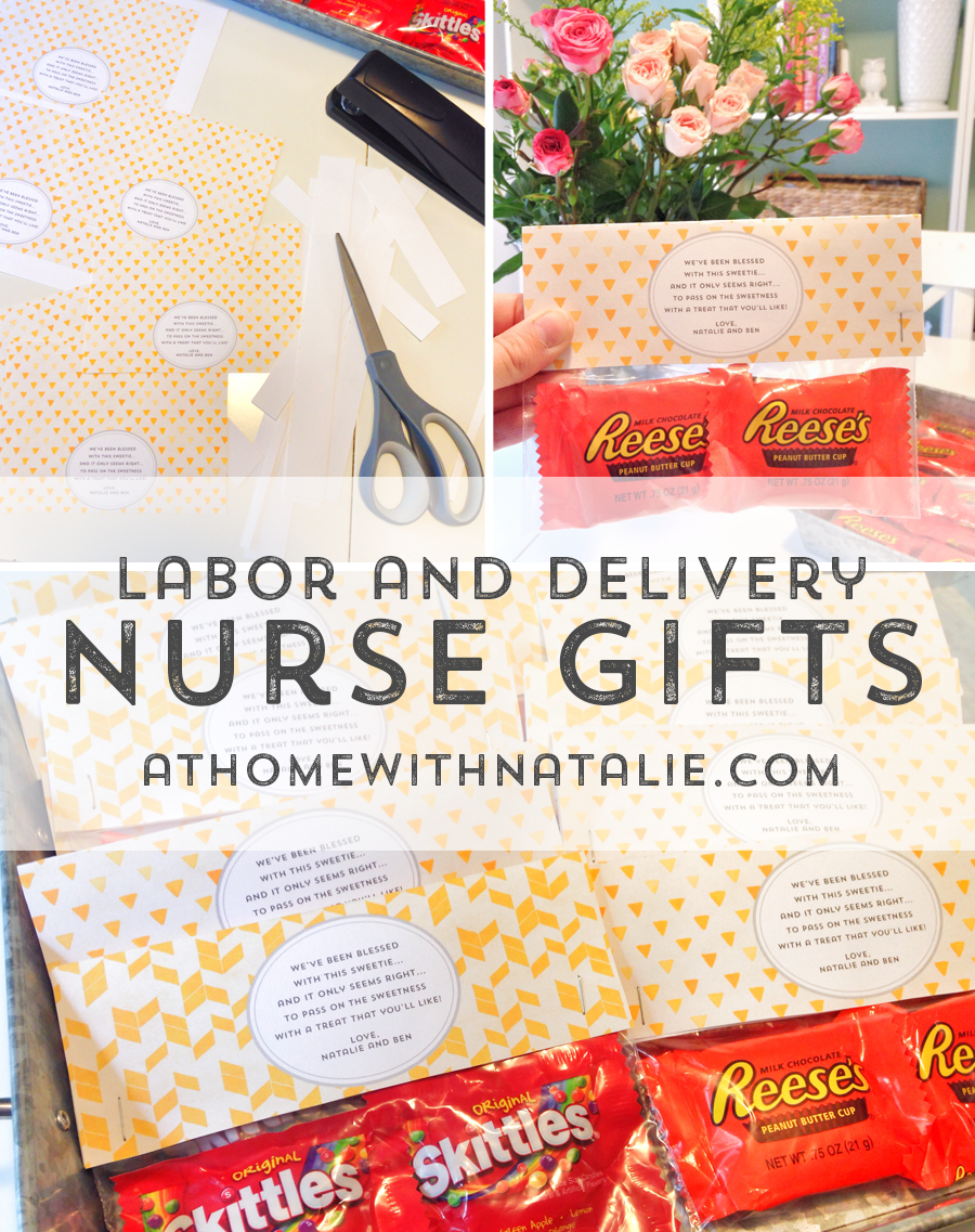 Labor Delivery Nurse Gifts Diy Printable At Home With Natalie