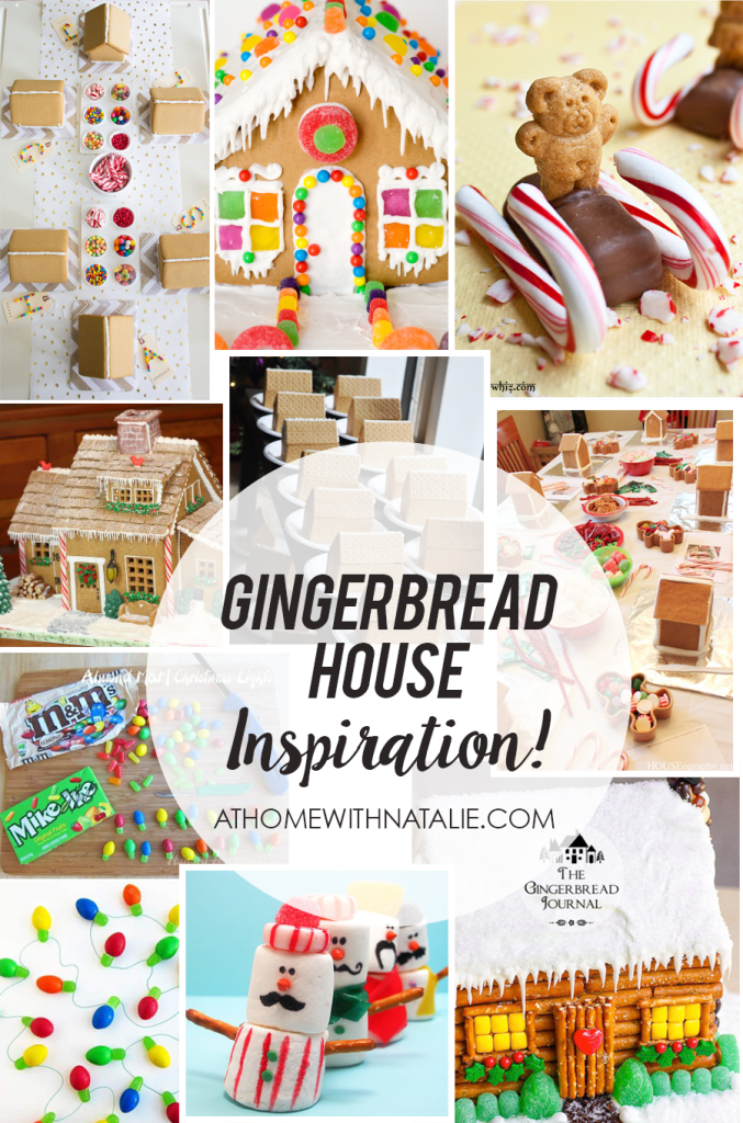 gingerbread house inspiration - athomewithnatalie