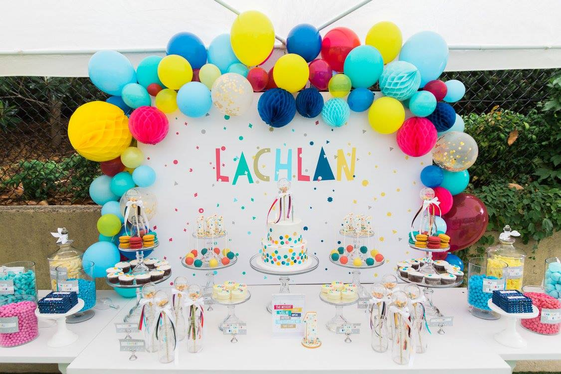 20 Creative First Birthday Party Themes  At Home With Natalie ~ 191942_Birthday Decorations Ideas For 1St Birthday