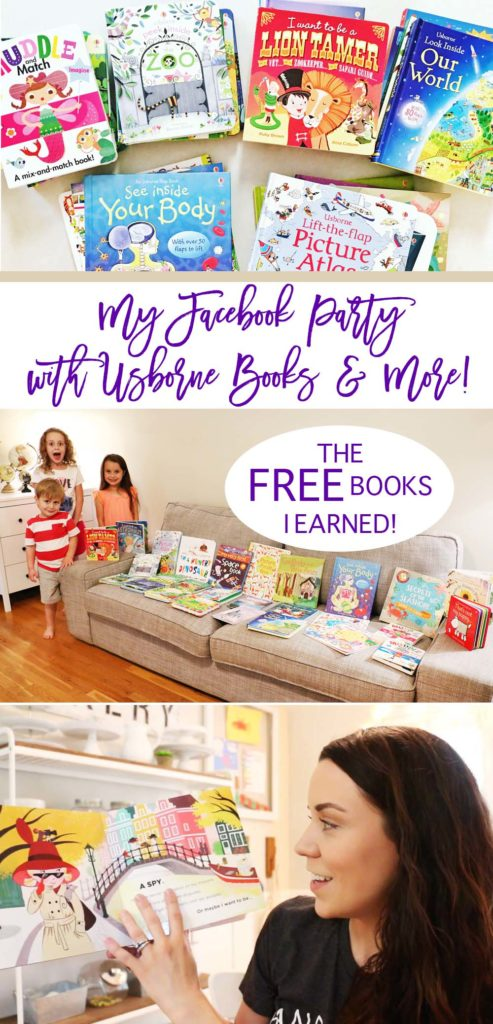 FREE BOOKS- USBORNE FACEBOOK PARTY