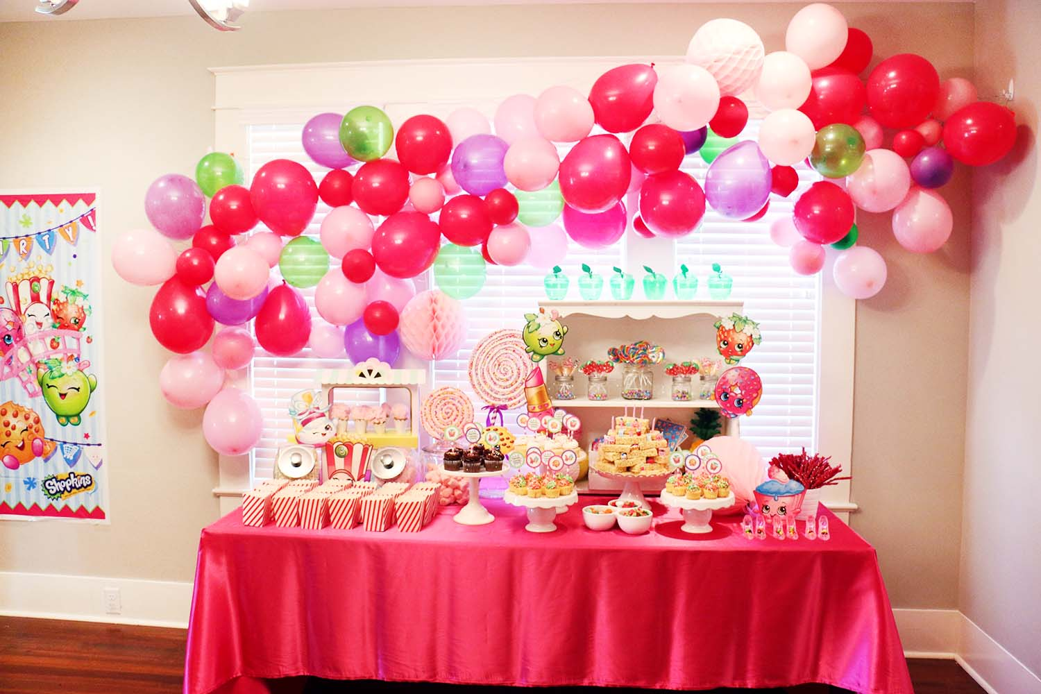 Sophia And Sienna's Shopkins Party!