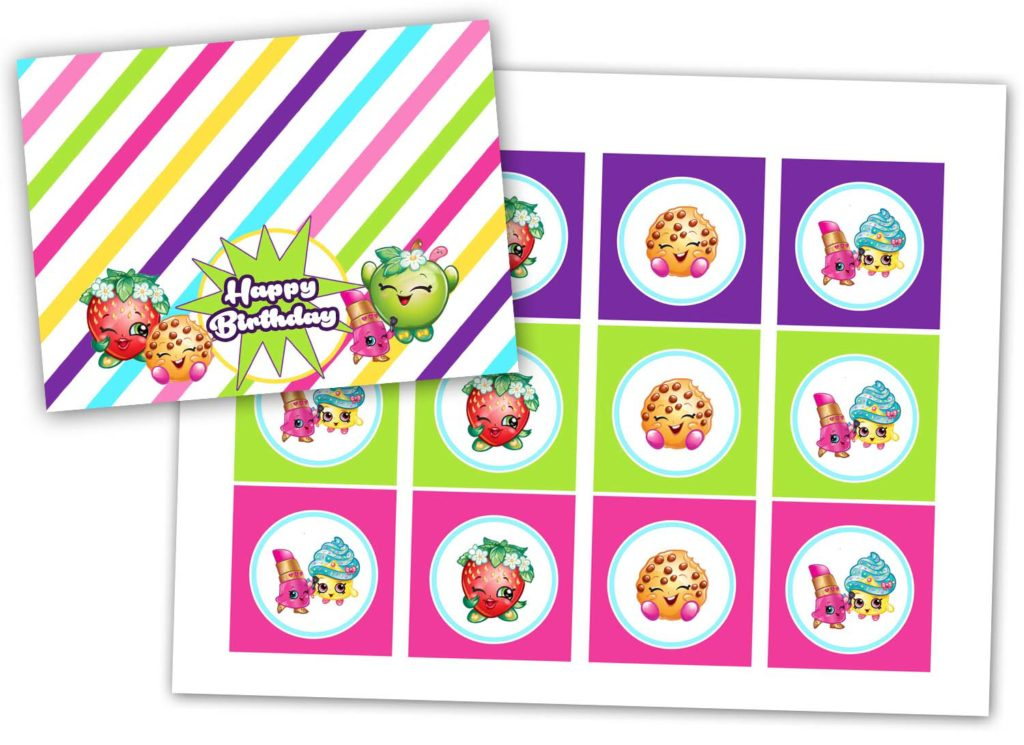 FREE CUPCAKE TOPPER PRINTABLES U2013 DOWNLOAD · FREE TREAT BAG TAG PRINTABLES U2013  DOWNLOAD · Athomewithnatalie Shopkinspritables