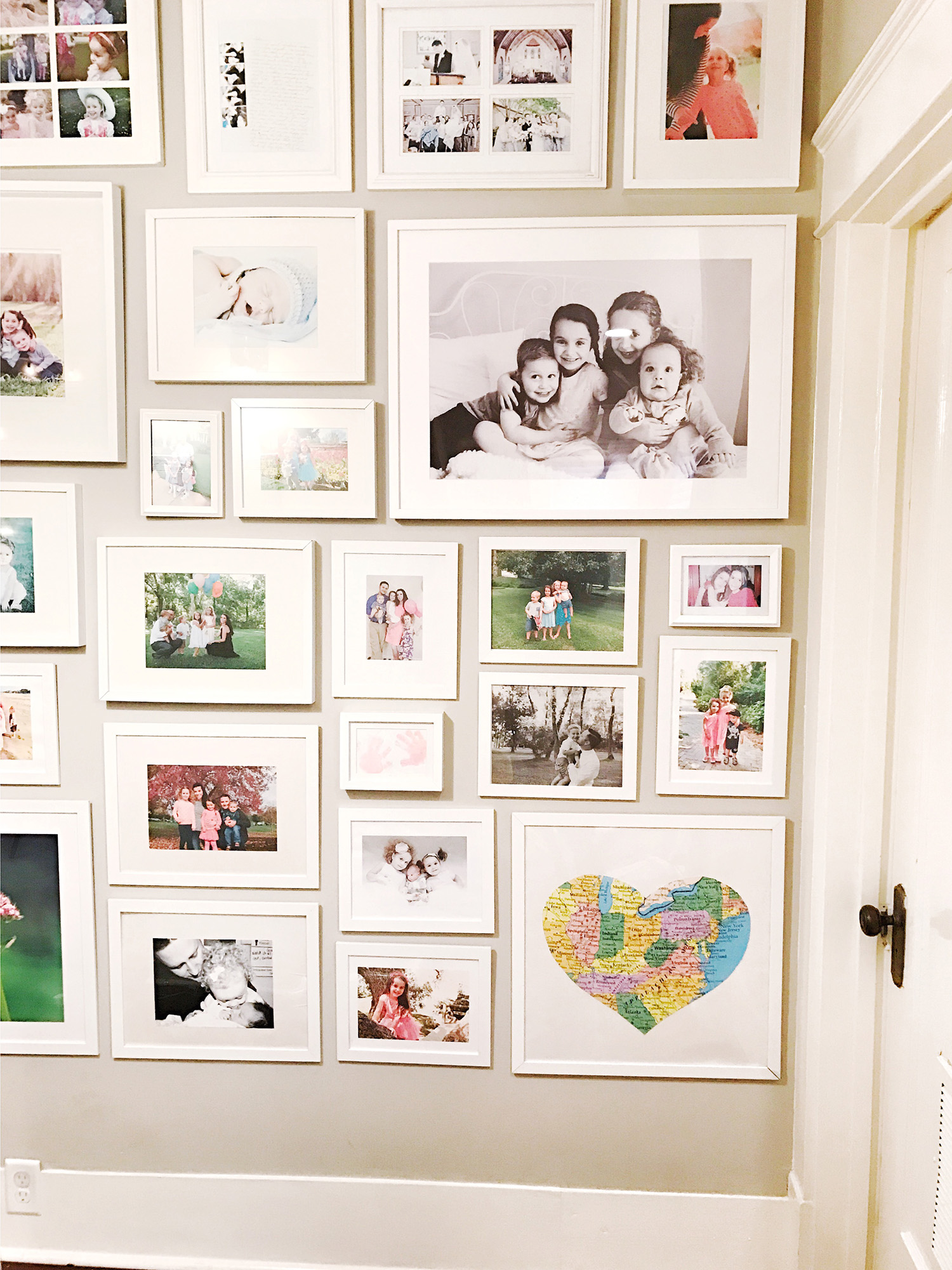 Our Hallway Gallery Wall At Home With Natalie The Blog Box
