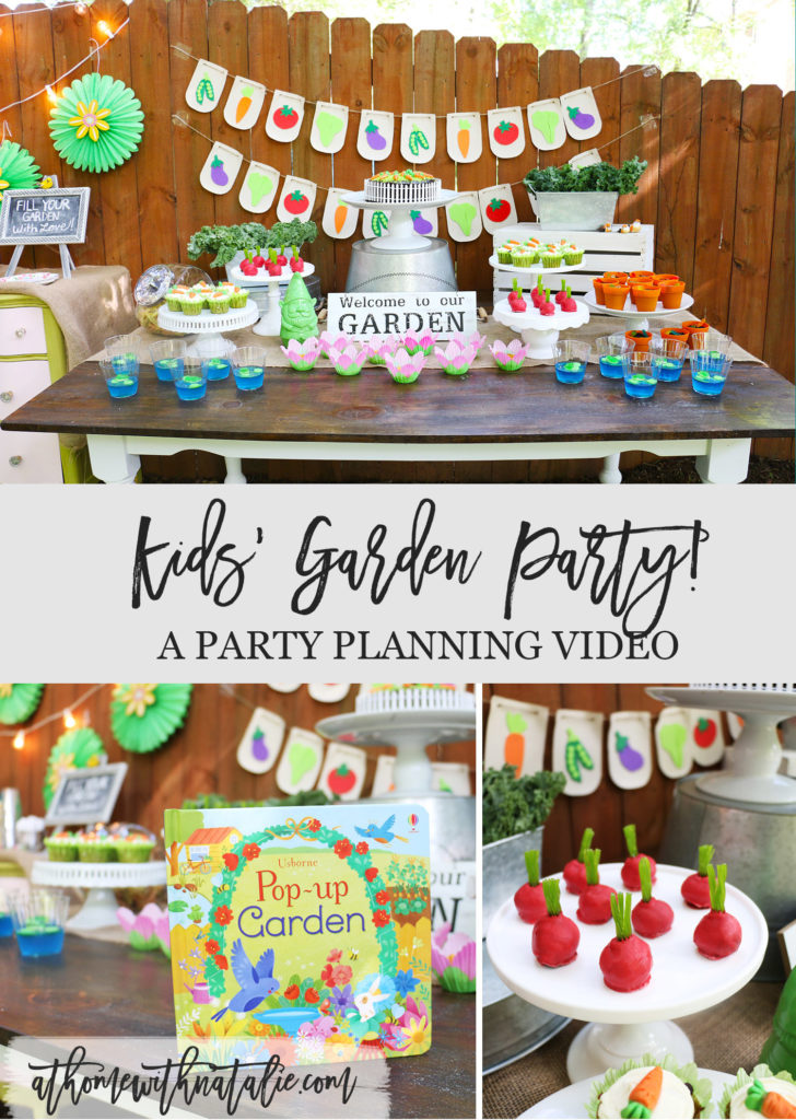 Kids' Garden Party - A Party Planning Video! - At Home ...