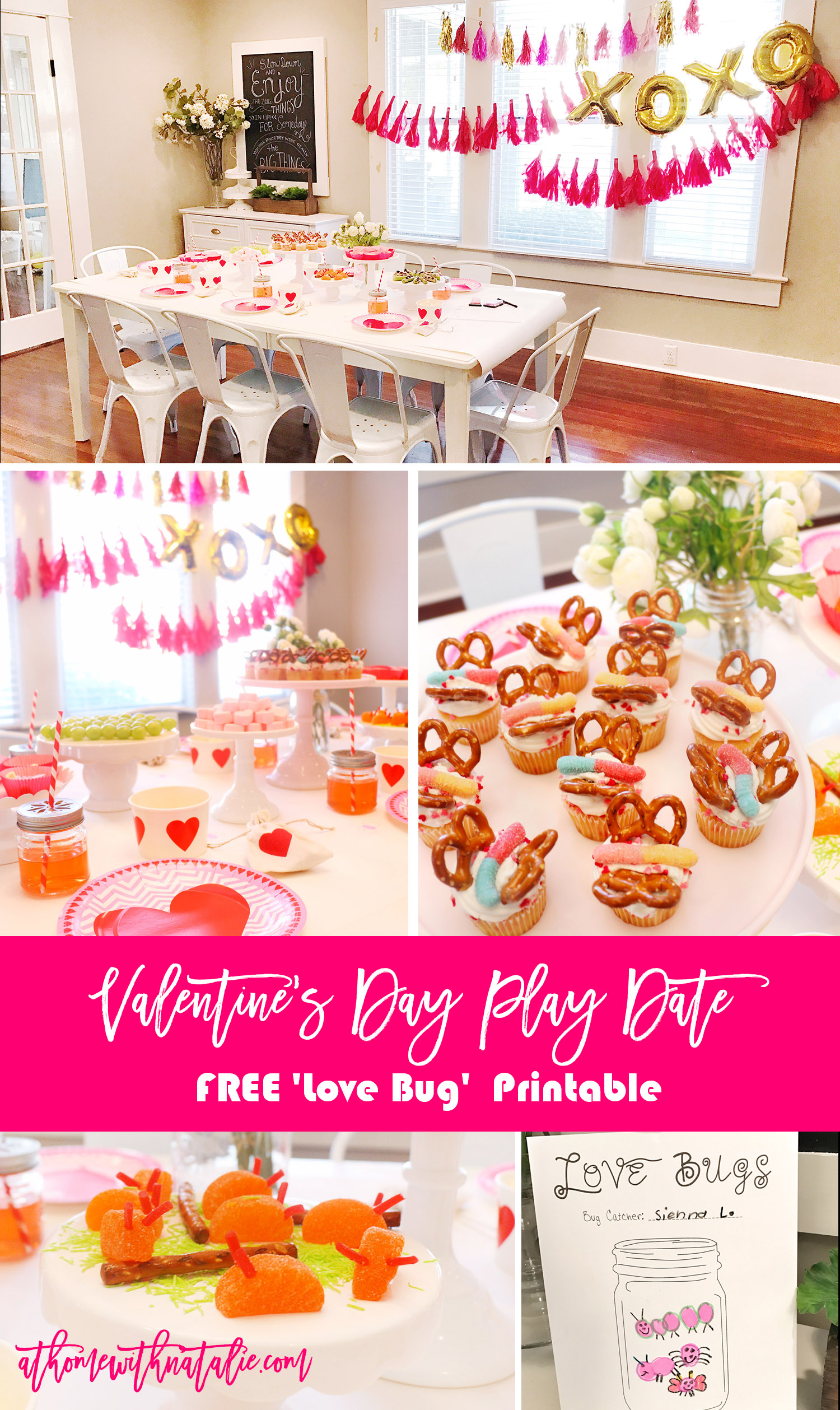 valentine's day diy projects Archives - At Home With Natalie