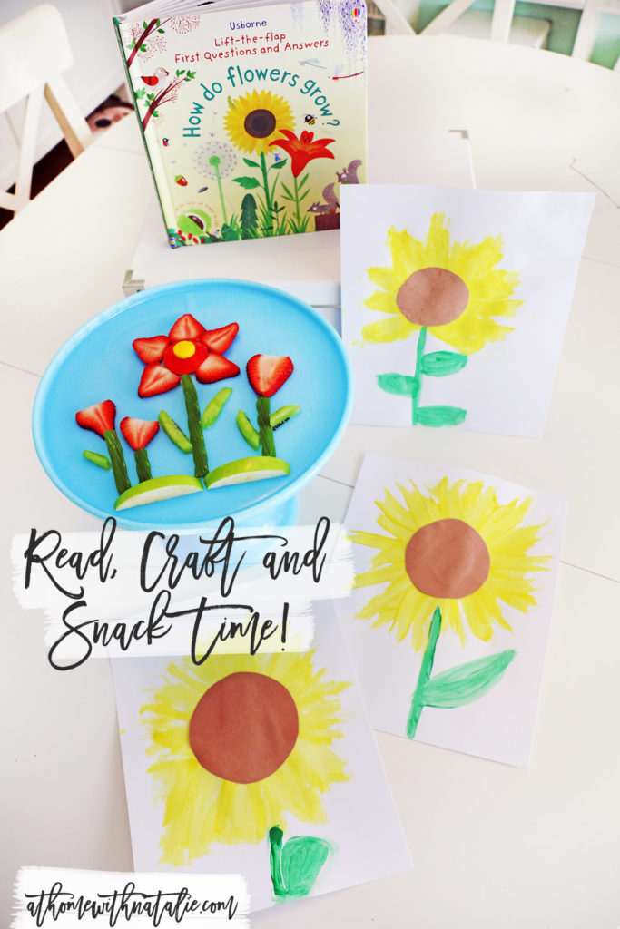 flower craft time -athomewithnatalie