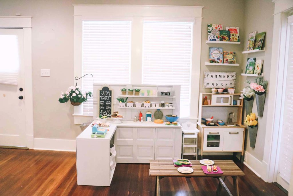 Diy Play Kitchen Pretend Play Area The Blog Box