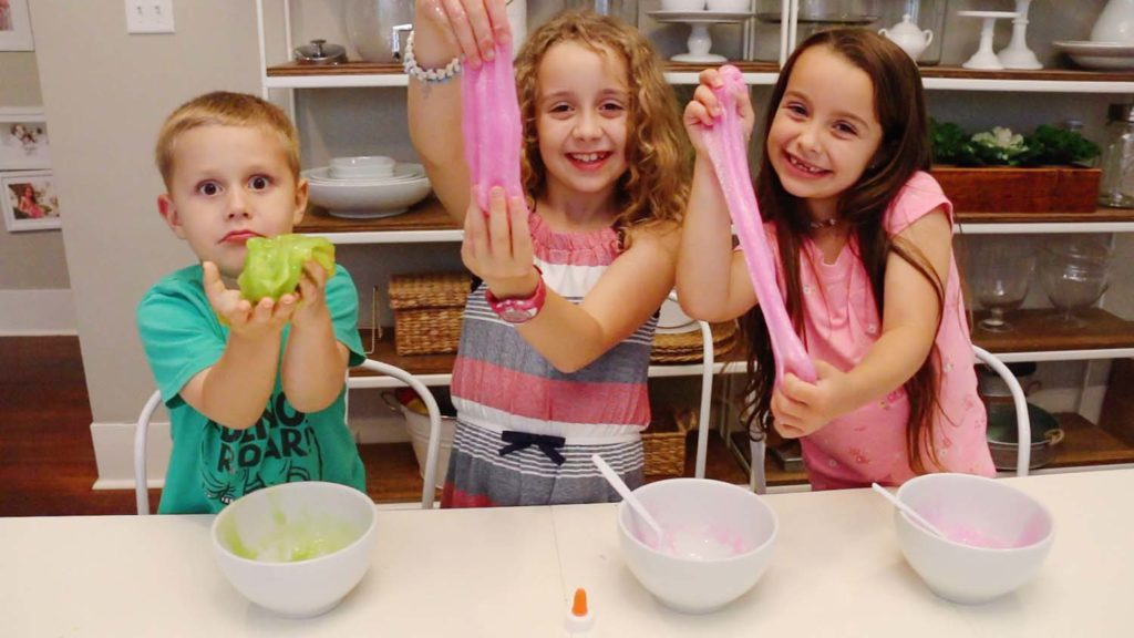 The EASIEST Slime Recipe
