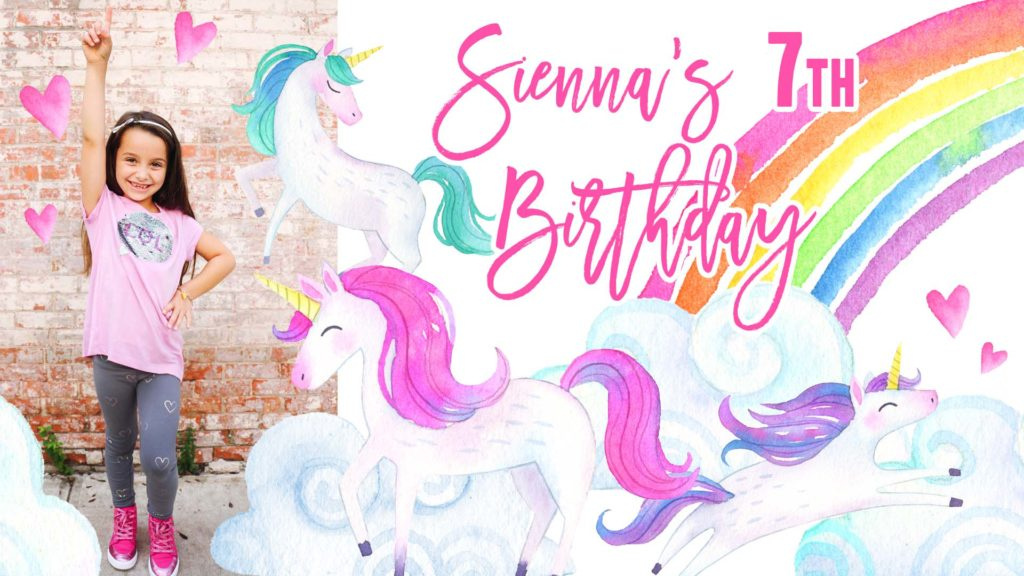 siennas unicorn party