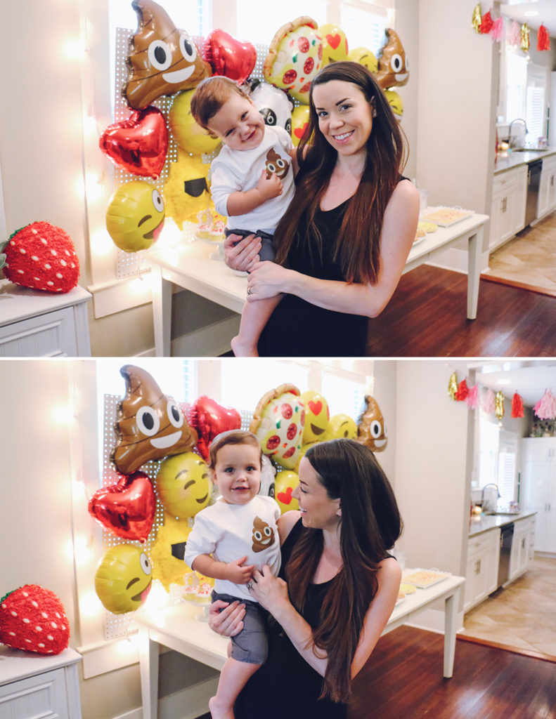 Emoji Birthday Party 12-AtHomeWithNatalie