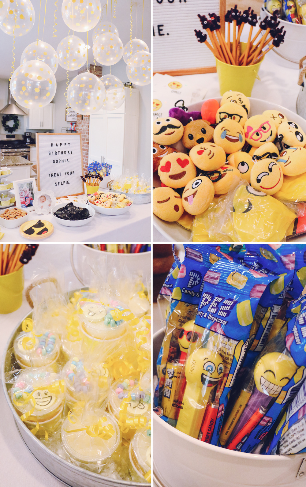 Emoji Birthday Party 19 AtHomeWithNatalie