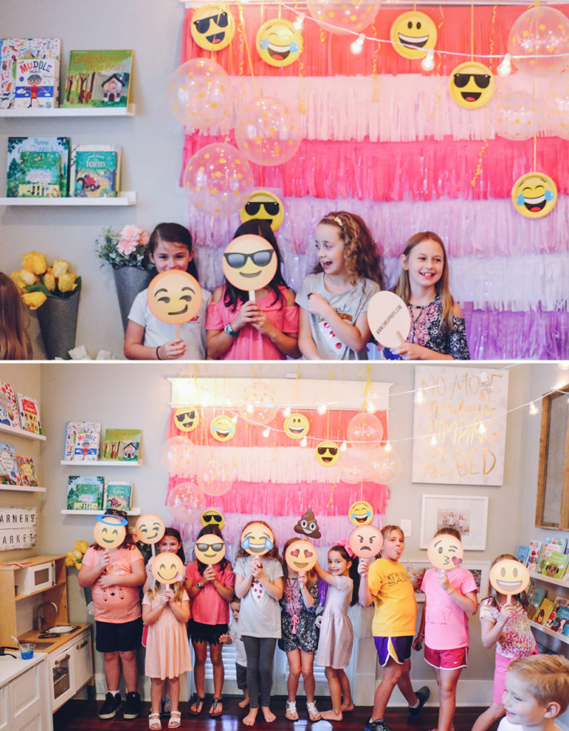 Emoji Birthday Party 8-AtHomeWithNatalie