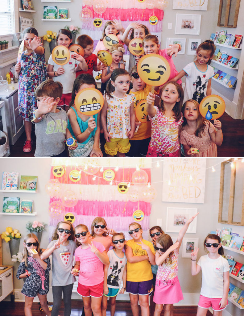 Emoji Birthday Party 9-AtHomeWithNatalie