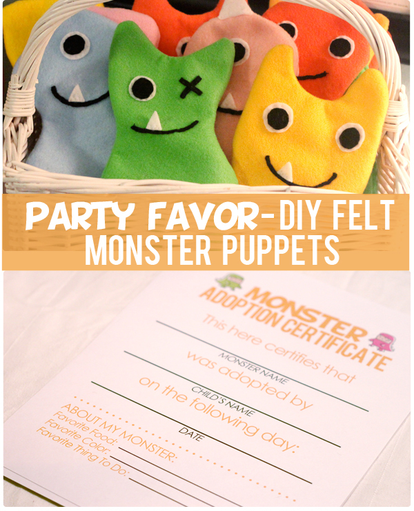 at home with natalie felt monster puppets