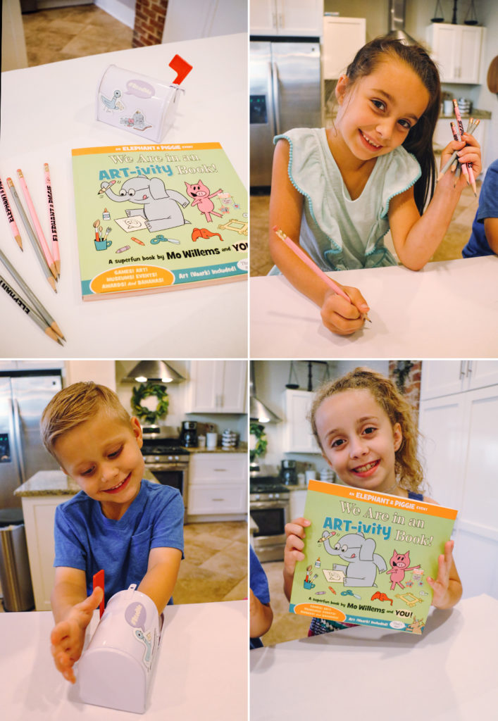 art-ivitybook at home with natalie