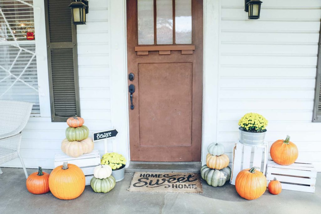 Our Halloween Decorations 2017 At Home With Natalie