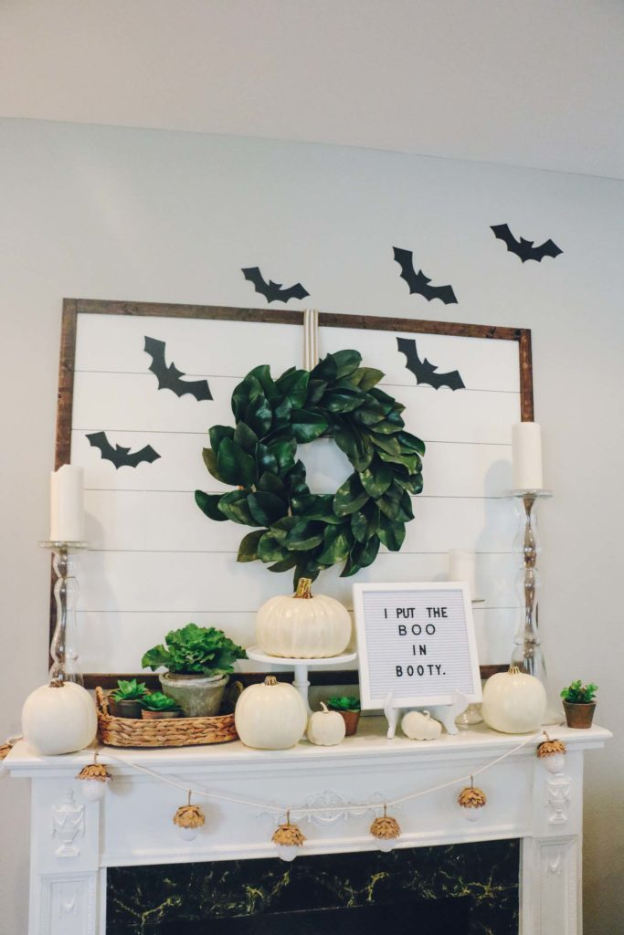Our halloween decorations 2017 at home with natalie for Halloween decorations to make at home