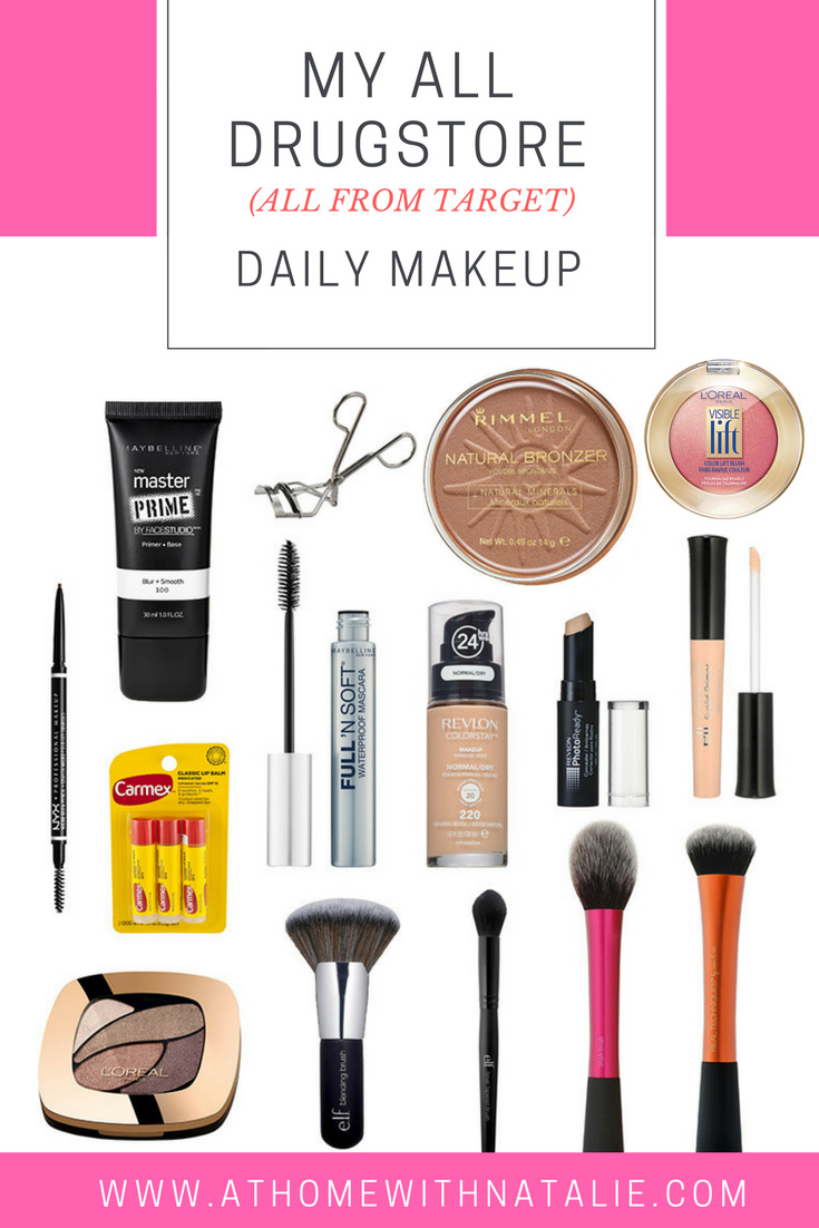 Drugstore Makeup Dupes: My Daily Makeup Routine -All Drugstore Products: All From
