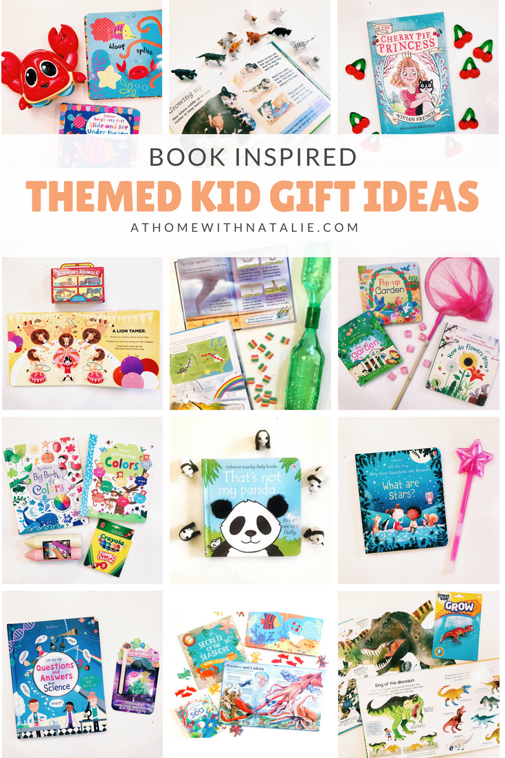 Book Inspired- Themed Kid Gift Ideas