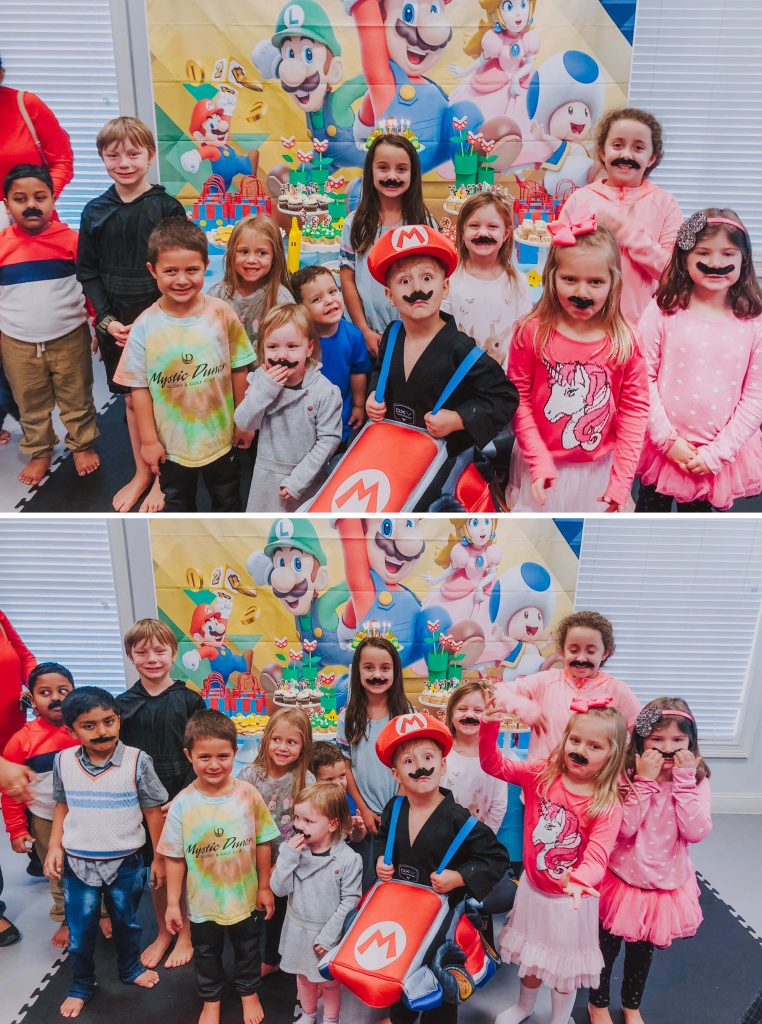 Micah's Mario Themed Birthday Party!