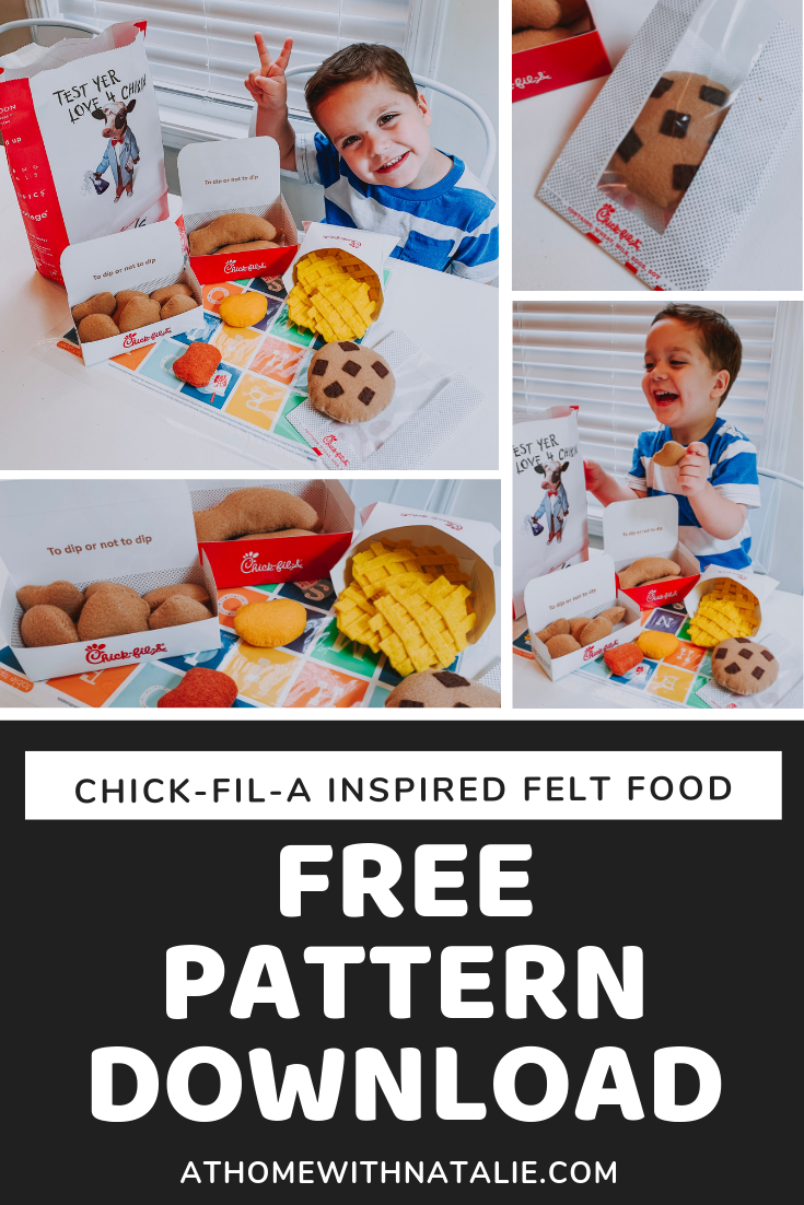 free felt food patterns
